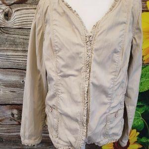 Torrid Cream Jacket Size  3